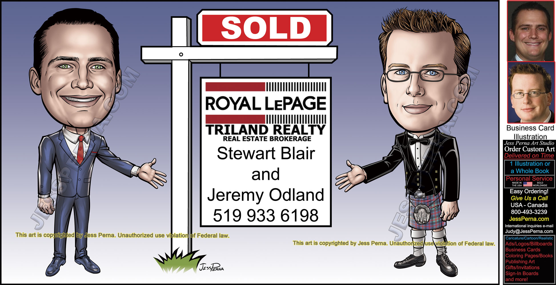 Order real estate agent partner cartoon ads 7 remax partners sold sign ad reheart Image collections