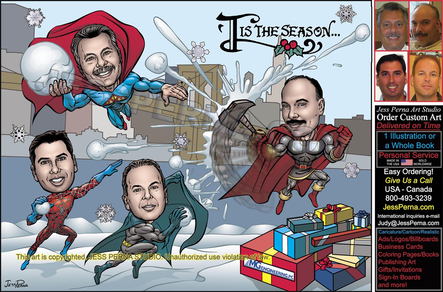 Caricature and Cartoon Portfolio Funny Cartoon Illustrations