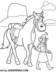Horse Coloring Pages – coloring.rocks!   250x196